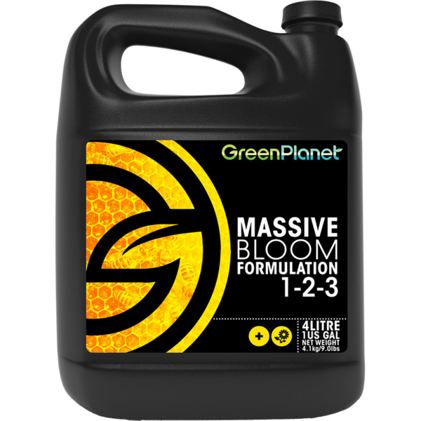 Green Planet Nutrients Massive Bloom Additive bulk flowers