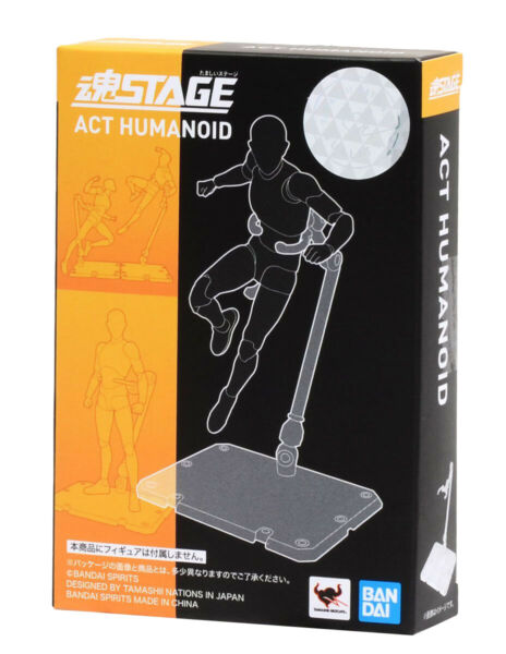 Tamashii Stage Act. 4 for Humanoid Stand Support Clear Bandai *LEGIT* $16.99