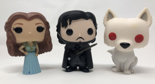 Margaery Tyrell #38 John Snow Ghost Funko Pop Game Of Thrones Loose Vaulted