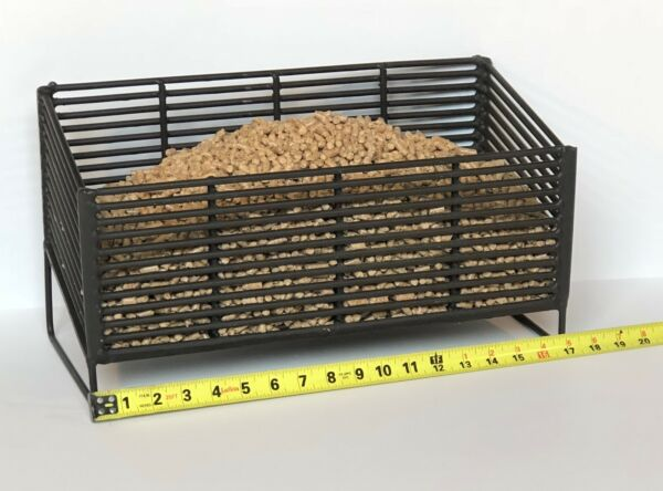 Large Pellet Basket 5 Times Heavier and Thicker Welded Pellet Basket Made in USA $150.00