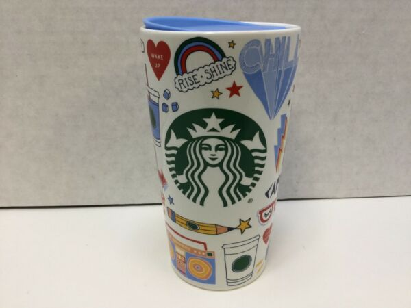 Starbucks 2020 Back To School Double Walled Ceramic Travel Tumbler 12 oz