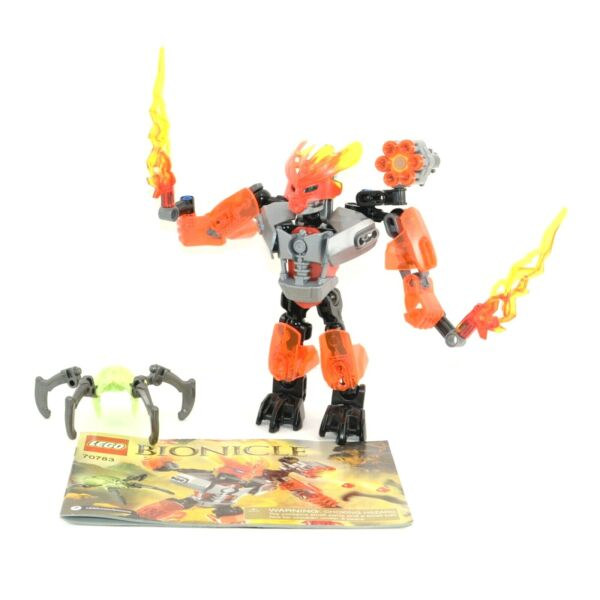 LEGO Bionicle Protector of Fire Set 70783 Complete with Instructions No Box