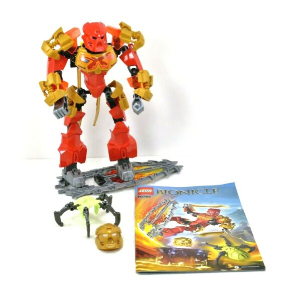 LEGO Bionicle Tahu Master of Fire Set 70787 Complete with Instructions No Box