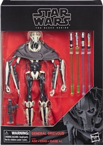 Star Wars Black Series NEW * General Grievous * Figure 6 Inch IN STOCK