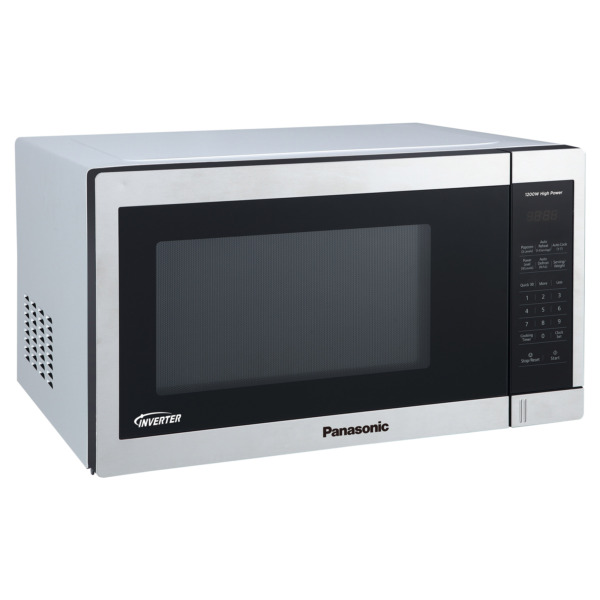 Panasonic 1.3CuFt Stainless Steel Countertop Microwave Oven