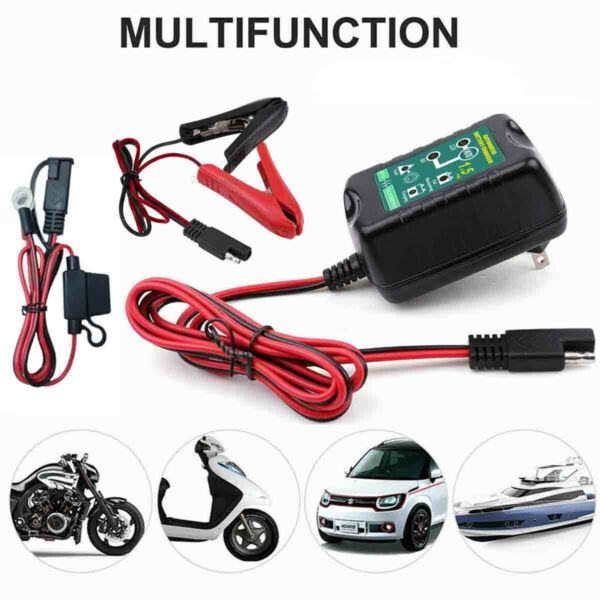 Automatic Battery Charger Maintainer Motorcycle Trickle Float For Tender 6V 12V $20.46