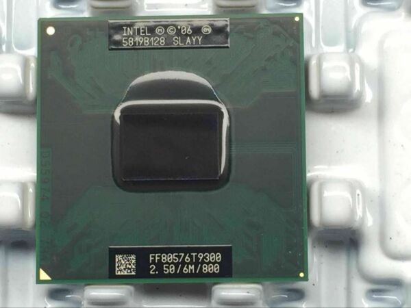 Intel Core 2 Duo Mobile T9300 SLAQG SLAYY 2.5 GHZ 6MB 800MHZ CPU Processor US $33.88