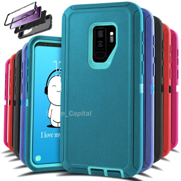For Samsung Galaxy S9 S9 Heavy Duty Rugged Shockproof Protective Hard Case