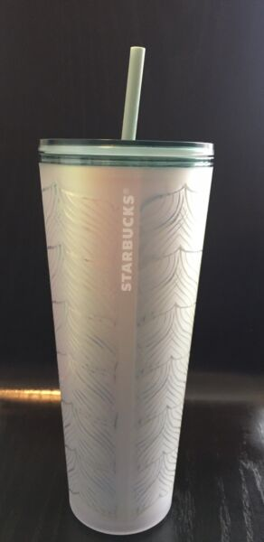 Starbucks 50th Limited Edition Mermaid Tail Matte Soft Touch Tumbler 24oz
