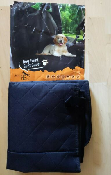Active Pets Front Seat Dog Cover Durable Protector Against Mud amp; Fur Waterproof $9.50