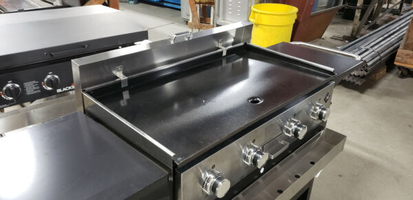 Stainless cover amp; winscreen for Sams Members Mark griddle