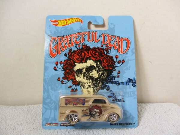 HOT WHEELS POP CULTURE GRATEFUL DEAD DAIRY DELIVERY