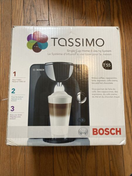 Bosch TA55 T55 Tassimo Coffee Maker TAS5542UC 04 RARE 04 Model TESTED