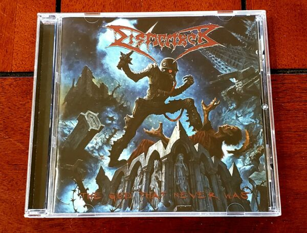 DISMEMBER The God That Never Was 2006 DEATH METAL Candlelight RARE CD