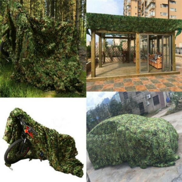 Photography Net Portable Car Hide Leaves Mesh Military Netting Woodland