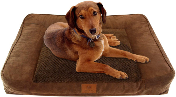 Kennel Club Memory Foam Sofa Pet Bed Orthopedic Pillow Cushion Plushed Pad Fur $47.48