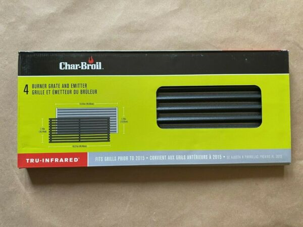 Char Broil Tru Infrared 4 Burner Grate and Emitter replacements