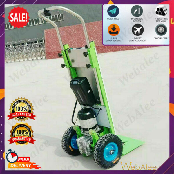 Electric Mobile 500V Stair Climbing Hand Truck Cart Dolly 220KG Max Load GBP 1399.99