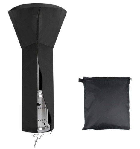 Outdoor Patio Heater Cover Waterproof with Zipper Standup 89#x27;#x27; H x 33quot; D x 19quot;