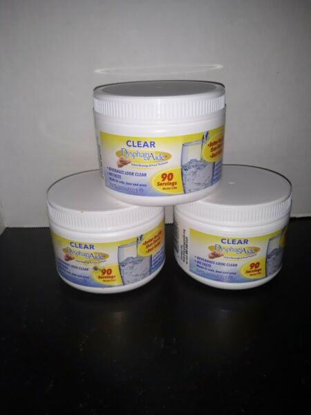 Clear DysphagiAide Instant Beverage And Food Thickener $10.00