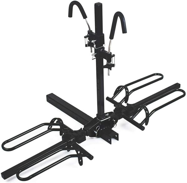 MAXXHAUL 50027 Hitch Mount Platform Style 2 Bike Rack $122.99