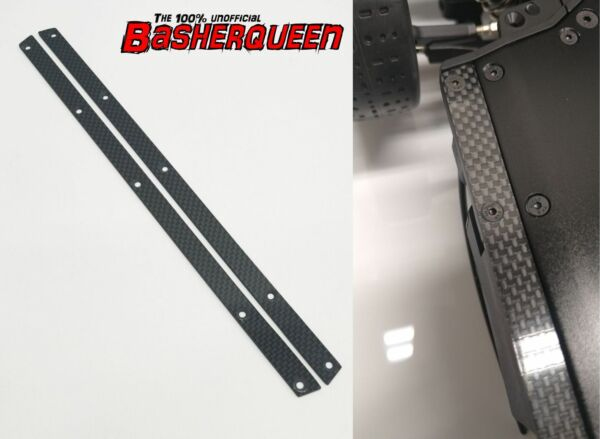 Basherqueen Carbon Fiber Side Skirts 1 7 Arrma Felony Infraction Limitless $23.95