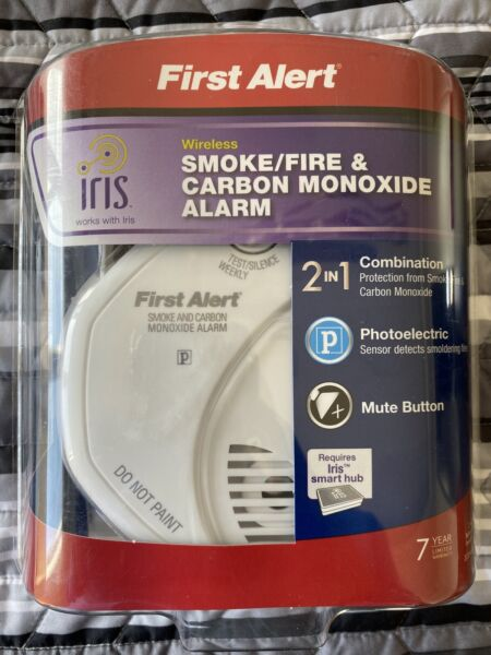 First Alert Z Wave Combination Photoelectric Smoke and Carbon Monoxide Alarm $23.00