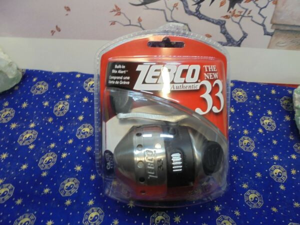 ZEBCO Authentic 33 Spin Cast Reel Stainless Cover Brand New