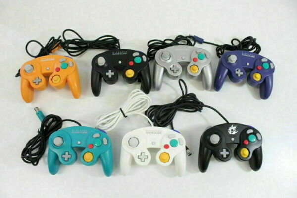 Nintendo GameCube Controller Multicolor Pad GC Switch Wii Tight Stick Official
