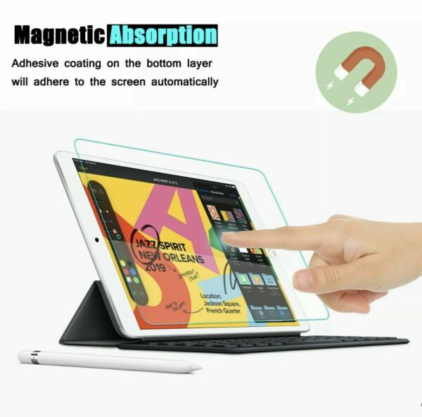 iPad 5th 6th Generation 9.7 Inch Tempered Glass Screen Protector Single Pack $0.99