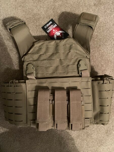Shellback Tactical Rampage 2.0 Plate Carrier 2 RMA Armament Level IV Plates $525.00