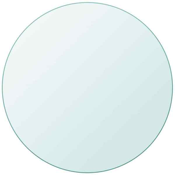 Table Top Tempered Glass Round 23.6quot;