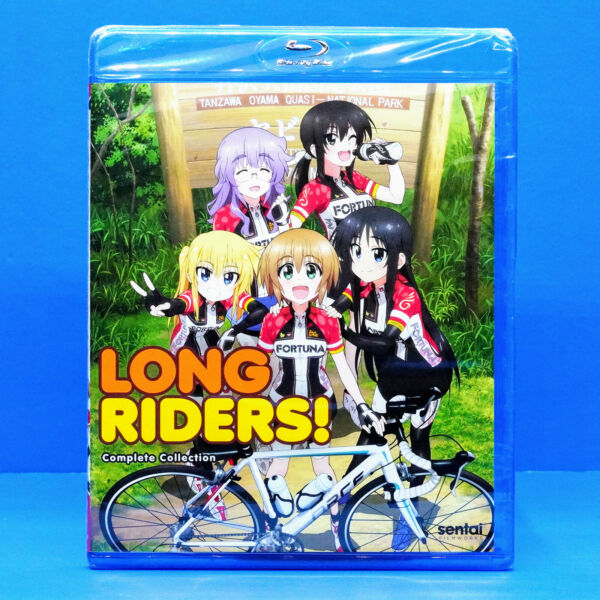 Long Riders Complete Anime Series Collection Blu rayLongriders Bicycle Girls $29.99