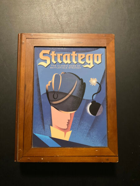Stratego Vintage Game Collection Library Bookshelf Edition Complete