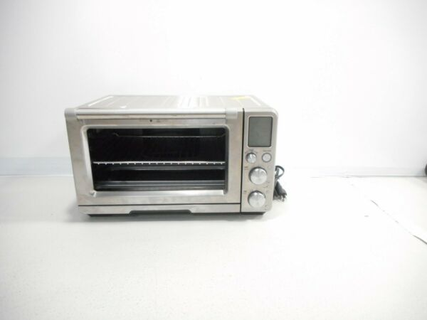 Breville Smart Oven Air Fryer BOV900BSS Toaster Oven Stainless Steel READ