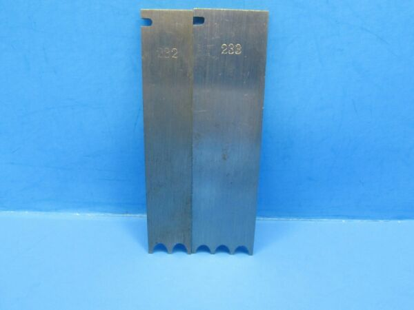 #232 #233 special reed reeding irons blades cutters for Stanley 45 55 wood plane $60.00