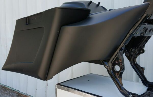 6quot; Stretched Extended Harley Davidson Side Covers Flh 2009 2013 $299.00