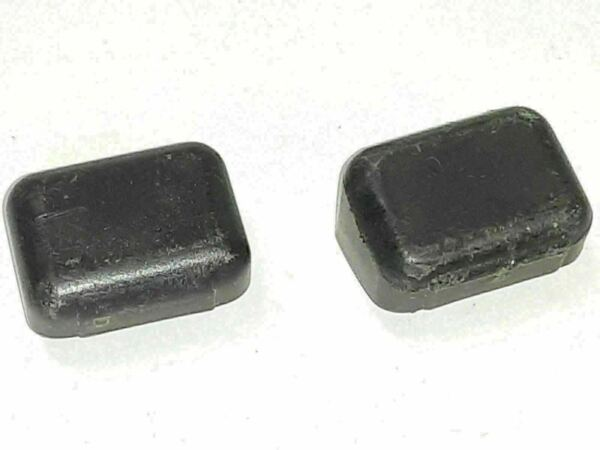 2 Thule Replacement Square Load Bar End Caps 4v4 $6.99