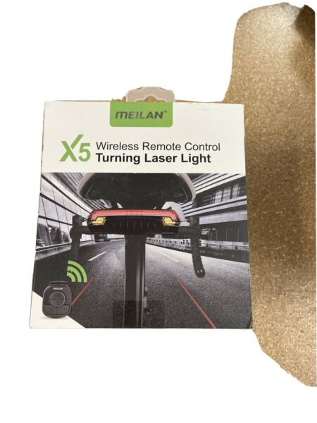 MEILAN X5 Smart Bike Tail Light with Turn Signals and Automatic Brake Light $39.99