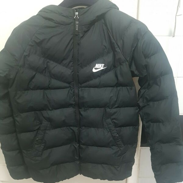 Vintage Nike Puffa Jacket Size L 18quot; Pit To Pit