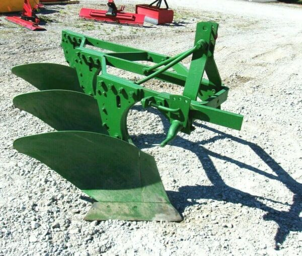 Used John Deere 3 16quot; Trip Plow 3 Pt. FREE 1000 MILE DELIVERY FROM KY