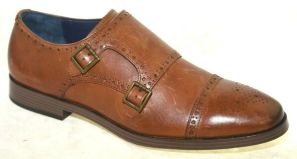 Cole Haan Men#x27;s Hamilton Grand Double Monk British Tan Style C26164 10.5M $41.99