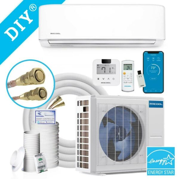 24k BTU 20 SEER MrCool DIY Ductless Heat Pump Split System 3rd Generation Wall $1725.00