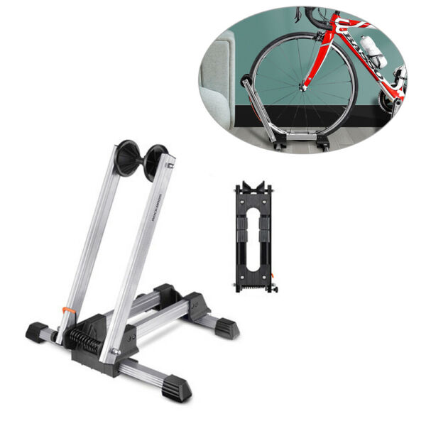 Bicycle Bike Floor Parking Storage Stand Display Rack Folding Holder New USA $21.45