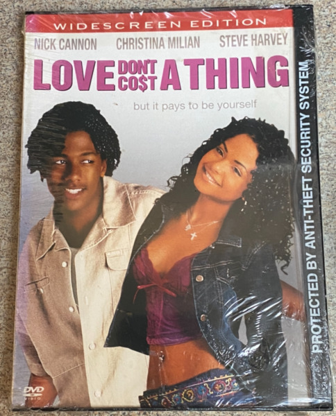 Love Dont Cost a Thing DVD 2004 Christina Milian Nick Cannon Sealed $12.95