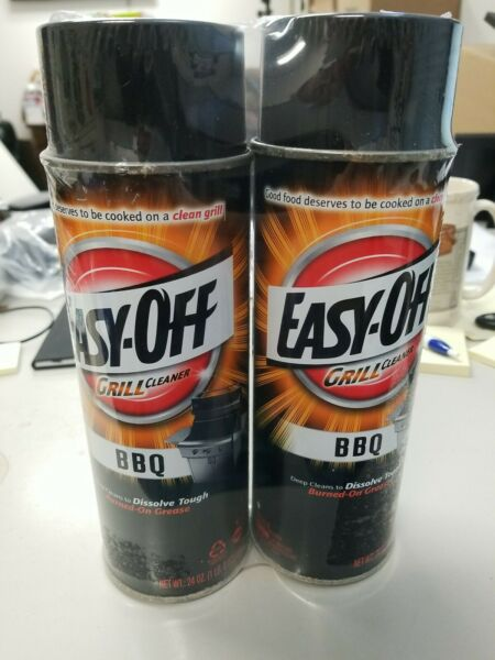 Easy Off 2 Pack 24 oz each BBQ Grill Cleaner Brand New $7.64