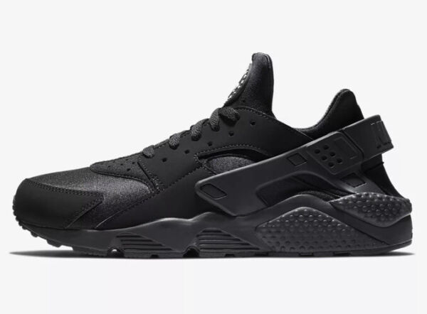 Nike Air Huarache Black Casual Shoes Men#x27;s Sizes 7.5 13 318429 003
