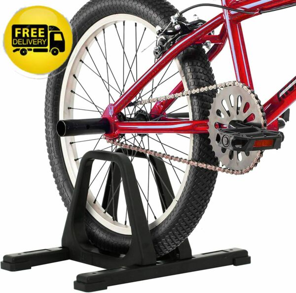 Rad Cycle Bike Stand Portable Floor Rack Bicycle Park Lightweight Comfortable $27.99