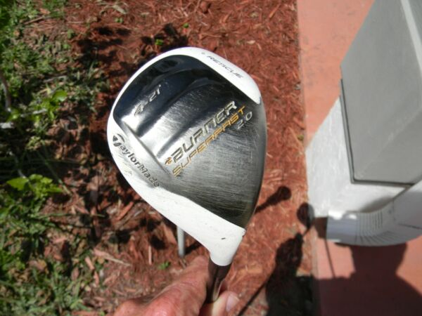 Taylormade Burner Superfast 2.0 # 4 hybrid 21 degree Regular Flex No H C