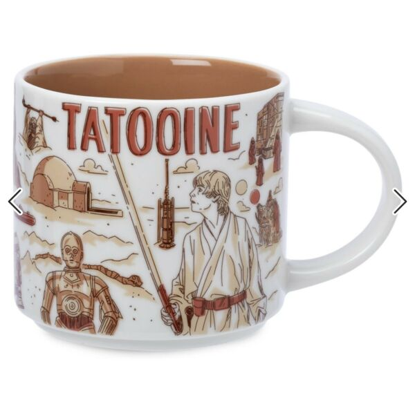 Disney Star Wars May The 4th 2021 Starbucks Mugs Been There TATOOINE
